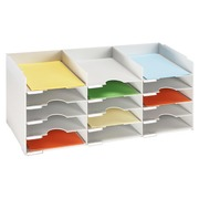 Sorter grey 15 compartments for cupboard W 83 cm