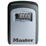 Secured key safe for permanent fixation Master Lock