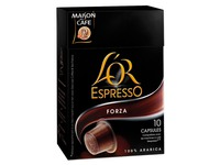 Bag with 10 pads Espresso Forza
