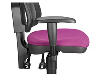 Set of adjustable armrests for chair in netstructure Bruneau