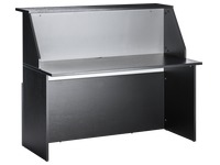 Straight reception desk W 140 cm Twiny