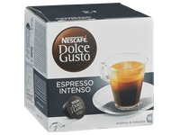 Box of 16 coffee capsules Nescafé Dolce Gusto Espresso Intenso