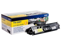 Brother TN329Y - jaune - original - cartouche de toner (TN-329Y)