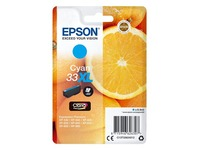Epson 33XL - XL - cyan - original - ink cartridge