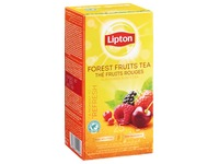 Box of 25 tea bags Lipton tea red fruits