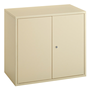 Economical swing door cabinet, H 72 cm