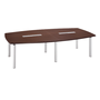 Modular meeting table Belem for 10 people wenge