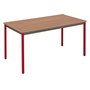 Multi-use eco table 130 x 65 cm teak