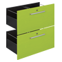 Set of 2 drawers for Biblicase - fashion colours