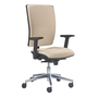 Office chair back and seat in fabric Bruneau Activ' - Synchronic